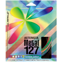 トアルソン(TOALSON) アスタリスタ メタル 1.27mm レインボーエディション (TOALSON ASTERISTA METAL 1.27 RAINBOW STRING PACK) ナイロンストリングス