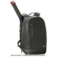 ウイルソン(WILSON) ミニマリスト テニスバックパック ブラック ラケットバッグ WRZ863995