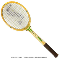 ヴィンテージラケット スポルディング(SPALDING) ロージー・カルザス Rosie Casals 木製 テニスラケット