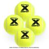 寒い環境に適したノンプレッシャー!トレトン(Tretorn) Xコンフォート ノンプレッシャー テニスボール 4個セット イエロー×イエロー