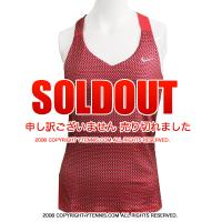 ナイキ(Nike) USオープンリシキ選手着用モデル、USオープンガールズシングルス優勝 アナ・コニューAna Konjuh選手着用モデル ラリーニットタンクトップ フュージョンレッド