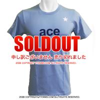 ATPワールドツアー メンズ エースTシャツ ブルー 国内未発売