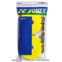 ヨネックス(YONEX) スーパーグリップ オーバーグリップ 30パック イエロー