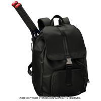 ウイルソン(WILSON) フォールドオーバー テニスバックパック ブラック ラケットバッグ WRZ863996