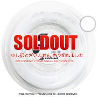 ��200m�?��/16G�ۥХܥ�(Babolat)���ƥ��å����å� 16G/130 Synthetic Gut �ۥ磻�� �ʥ���ȥ�� �?�륬�å�