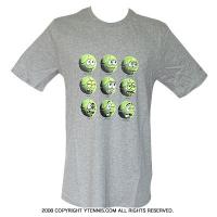 ナイキ(Nike) コート Tシャツ グレー