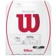 【在庫処分特価】ウイルソン(WILSON) リボルブ(REVOLVE) 1.25mm ブラック パッケージ品 テニス ガット