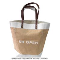USオープンテニス オフィシャル商品 ジュートバッグ トートバッグ 全米オープン