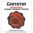 バドミントン用 ガンマ GAMMA ストリング・ガット 簡易テンションテスターの画像2