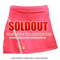 ポロ ラルフローレン (Polo Ralph Lauren) トーナメントベースラインスカート ネオンピンク 国内未発売 レディース