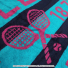 ウィンブルドン(Wimbledon) 2017年モデル オフィシャル商品 限定販売 チャンピオンシップタオル ブルー/ピンク 全英オープンテニスの画像3