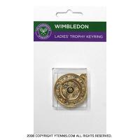 ウィンブルドン(Wimbledon) オフィシャル商品 レディーストロフィーキーリング キーホルダー