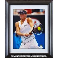 ヤニナ・ウィックマイヤー選手 直筆サイン入り記念フォトパネル 2010年全豪オープン JSA authentication認証 オーストラリアオープン