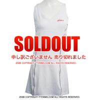 アシックス(asics) サマンサストーサーウィンブルドン着用モデルウーマンラケットドレス ホワイト