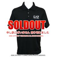 セール品 EA7(エンポリオ・アルマーニ) テニス ウィンブルドンポロシャツ ブラック