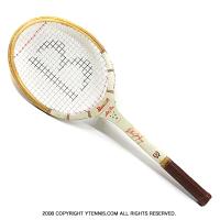 バンクロフト ヴィンテージラケット オールスター ビリー・ジーン・キング テニスラケット 木製 ウッドラケット
