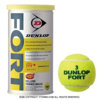 ダンロップ(DUNLOP) フォート(FORT) 1缶2球入 テニスボール