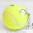 Wimbledon(ウィンブルドン) オフィシャル商品 スラセンジャー ミニテニスボールキーリング イエロー 全英オープンテニスの画像3