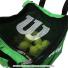 ウイルソン(Wilson) テニスボール 収納バッグ 150球収納可能 グリーンの画像3