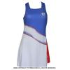 セルジオ・タッキーニ(Sergio Tacchini) Grid-coast dress テニスドレス 国内未発売モデル