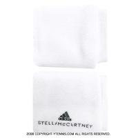 【ランドリー機能付】アディダスbyステラマッカートニー(adidas Stella McCartney) リストバンド ホワイト