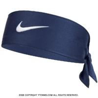 ナイキ(Nike)ドライフィット2.0 ヘッドタイ ネイビー/ホワイト