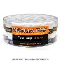 シグナムプロ(SIGNUM PRO) ツアーグリップ 0.5mm ホワイト オーバーグリップ 30パック