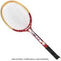 ヴィンテージラケット ウイルソン(WILSON) ジミー・コナーズ アメリカンスター Jimmy Connors AMERICAN STAR 木製 テニスラケット