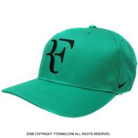ナイキ(Nike) 2017年春 ロジャー・フェデラーシグネチャーモデル  RF CLC99 キャップ グリーン/ブラック