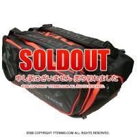 ダンロップ(Dunlop) DAC NT テニスバッグ ラケット12本収納 ブラック/オレンジ ラケットバッグ