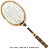 ヴィンテージラケット ウイルソン(WILSON) ジミー・コナーズ カプリ Jimmy Connors Capli 木製 テニスラケット