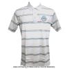 Wimbledon(ウィンブルドン) オフィシャル商品 ストライプポロシャツ グレー 全英オープンテニス