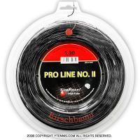 ���륷��Х���(Kirschbaum) �ץ�饤��NO.II(ProLine2) 1.30mm/1.25mm/1.20mm/1.15mm 200m�?�� �ݥꥨ���ƥ륹�ȥ�� �֥�å�