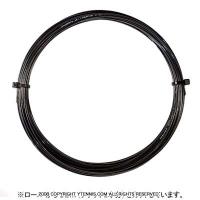 【12mカット品】ゴーセン(GOSEN) Gツアー3(G-TOUR 3) ブラック 1.18mm/1.23mm/1.28mm ポリエステルストリングス テニス ガット ノンパッケージ
