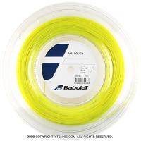バボラ(Babolat) RPMラフ(RPM Rough) 1.20mm/1.25mm/1.30mm 200mロール ポリエステルストリングス イエロー