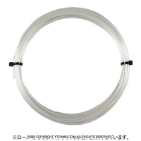 【12mカット品】シグナムプロ(SIGNUM PRO) プラズマ ヘキストリームピュア (Plasma Hextreme Pure) 1.30mm/1.25mm/1.20mm ポリエステルストリングス ホワイト テニス ガット ノンパッケージ