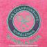 Wimbledon(ウィンブルドン) オフィシャル商品 刺繍ロゴ タオル ピンク全英オープンテニスの画像2