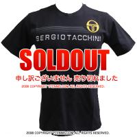 セルジオ・タッキーニ(Sergio Tacchini) Brando Tシャツ ブラック
