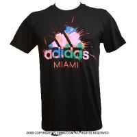 アディダス(adidas) Go To Performance マイアミマスターズオフィシャルモデル Tシャツ ブラック