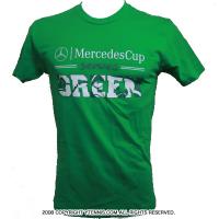 メルセデスカップ(Mercedes Cup)オフィシャル商品 Tシャツ メンズ グリーン 国内未発売