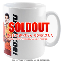 ATPツアー 錦織圭 マグカップ