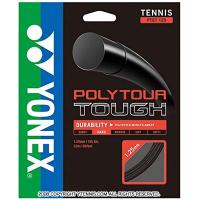 【12mカット品】ヨネックス(YONEX) ポリツアータフ (Poly Tour TOUGH) ブラック 1.25mm ポリエステルストリングス テニス ガット テニス ガット ノンパッケージ