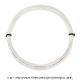 【12mカット品】テクニファイバー(Tecnifiber) アイスコード (ICE Code) 1.20mm/1.25mm/1.30mm ポリエステルストリングス ホワイトグレー テニス ガット ノンパッケージ