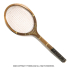 ヴィンテージラケット クレスト テニスラケット 木製 ウッドラケットの画像1