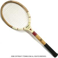 ウイルソン(WILSON) ヴィンテージラケット クレスト テニスラケット 木製 ウッドラケット