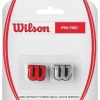 ウイルソン(Wilson)プロ フィール(Pro Feel) レッド/シルバー 振動止め ダンプナー