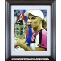 スベトラーナ・クズネツォワ選手 直筆サイン入り記念フォトパネル 2004年全米オープン優勝時 JSA authentication認証 USオープン
