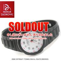 NDFノバクジョコビッチファウンデーション LORUS 腕時計 ジョコビッチモデル キッズ・レディースサイズ ブラック