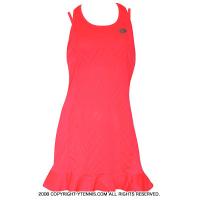 セール品 ロット(Lotto) Nixia IV ウーマン テニスドレス 国内未発売モデル ピンク
