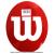 【テニスラケットにメーカーロゴを入れる型紙】ウイルソン(wilson)ロゴステンシルシートの画像